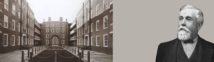 Peabody Estate in Chelsea Manor Street. © Peabody trust and William Sutton courtesy Affinity Sutton